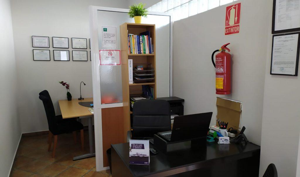 oficina autoescuela salida 222